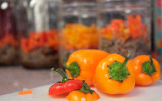Жареный перец на зиму — рецепты заготовок