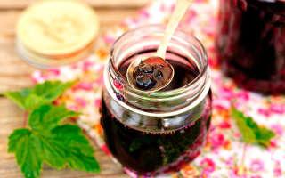 Варенье из черноплодной рябины — рецепты заготовок