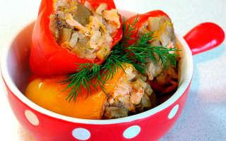 Фаршированный перец на зиму — рецепты приготовления