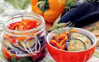 Салат из баклажан на зиму — рецепты заготовок