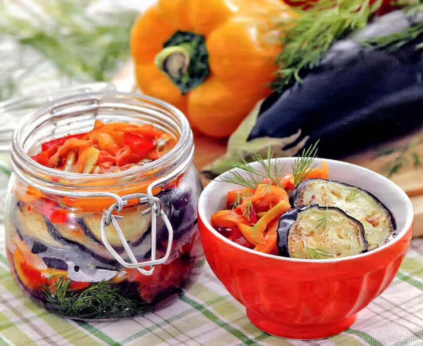 Салат из баклажан на зиму - рецепты заготовок