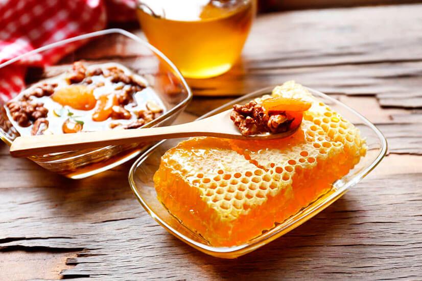 Как делать грецкие орехи с медом