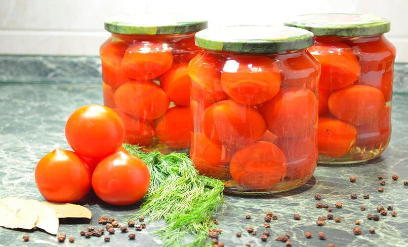 Маринованные помидоры на зиму - рецепты приготовления