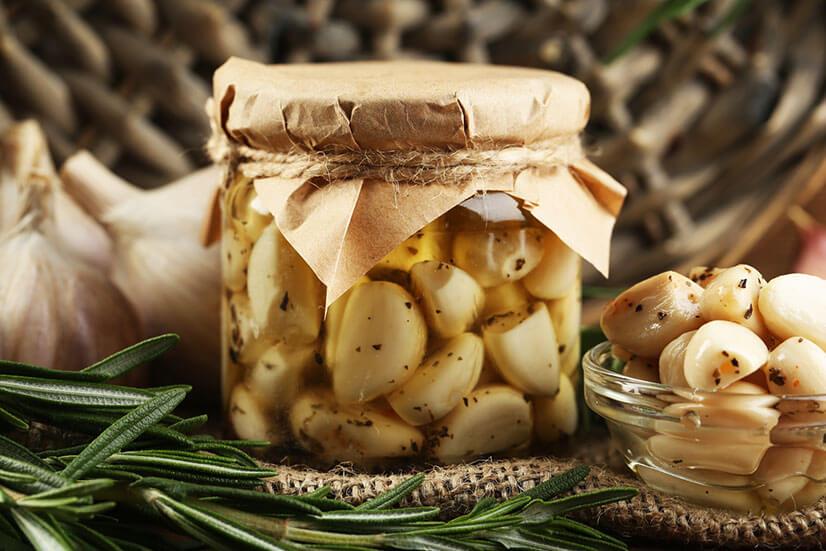 Маринованный чеснок на зиму - рецепты заготовок